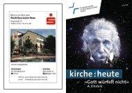 Gemeindemagazin - Ev. Kirche Haan