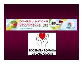 Prezentare Congresul National de Cardiologie 2010 (clic aici).