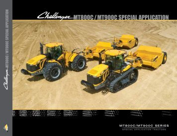 MT800C/MT900C SPECIAL APPLICATION - Challenger
