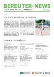 Bereuter-News 01 2012 (PDF 1.4 MB) - Bereuter Holding AG