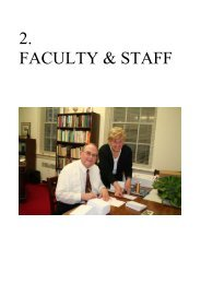 Faculty and Staff - Regis College