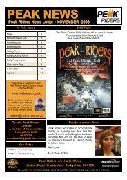 November - Peak Riders