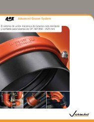 Advanced Groove System™ - Victaulic