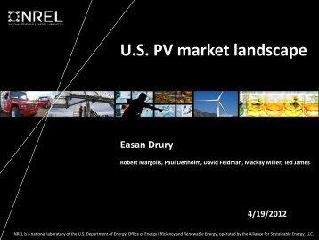 U.S. PV market landscape