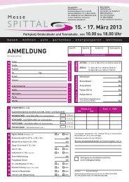Anmeldung 2013 - ORION messen