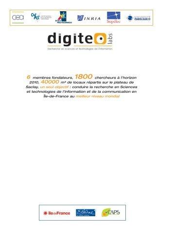 Digiteo Labs, premier parc de recherche en sciences et ... - CEA