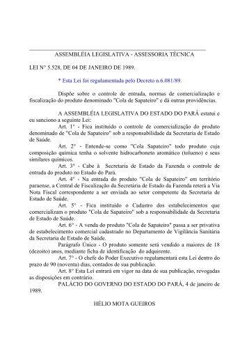 Leiord1989 - Assembléia Legislativa do Estado do Pará - Governo ...