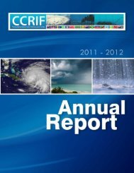 Annual Report 2011 - The Caribbean Catastrophe Risk Insurance ...