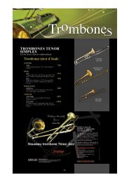 TROMBONES TENOR SIMPLES - Feeling Musique