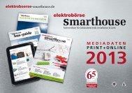 Mediadaten 2013 - elektroboerse-smarthouse.de