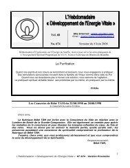 Vol. 68 No. 674 Semaine du 8 Juin 2008 La ... - VoViNet.Org