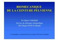 Biomécanique Ceinture pelvienne - ClubOrtho.fr