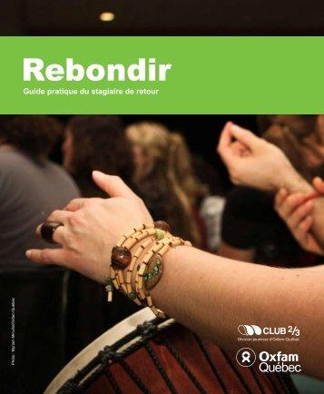 Rebondir - Guide pratique du stagiaire de retour - Oxfam-Québec