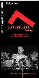 Programmheft März - Mai 2010 - Lindenkeller
