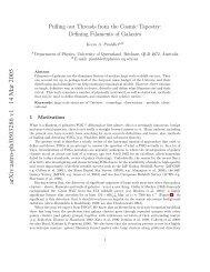 arXiv:astro-ph/0503286 v1 14 Mar 2005 - iucaa