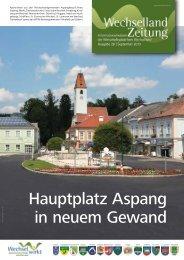 Hauptplatz Aspang in neuem Gewand - Wirtschaftsplattform ...