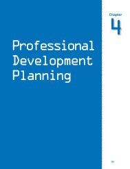 Chapter 4: Professional Development Planning - SEIR*Tec
