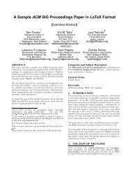 A Sample ACM SIG Proceedings Paper in LaTeX Format