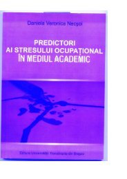 W PREDIcToRl Al sTREsuLul ocuPATloNAL - Portal - Universitatea ...