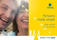 Pensions made simple - Mind the Gap Pension Calculator