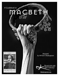 Macbeth by William Shakespeare - Zeiterion Theatre