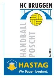 Handball Poscht Ausgabe 06/10 - HC Bruggen