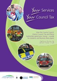 Council Tax Leaflet 2012/13 - Huntingdonshire District Council