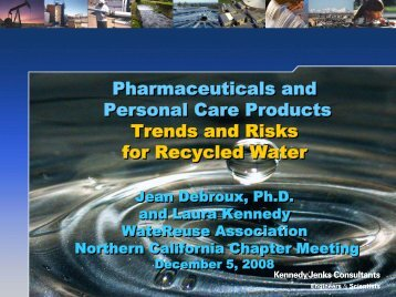 Pharmaceuticals and Personal Care Products Trends and Risks for ...