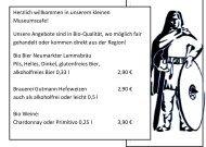 Unsere Getränkekarte im PDF Format