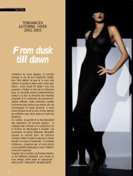 Wolford: Tendance 02/03 - Magazine Sports et Loisirs