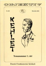 Hent prøvenummer Temanummer Kehlet 1. del Objektiv 103 - Dansk ...