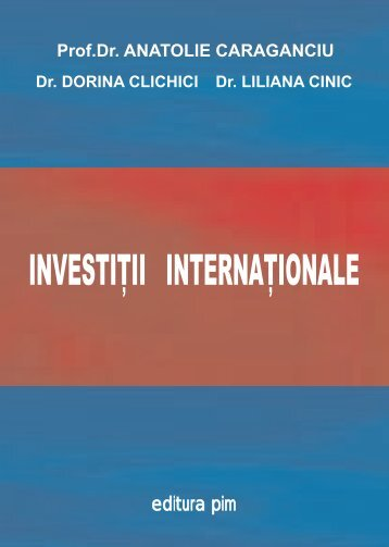 INVESTIII INTERNA IONALE - PIM Copy