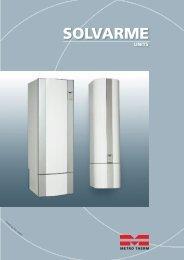 Produktbeskrivelse for METROs solvarme-beholdere