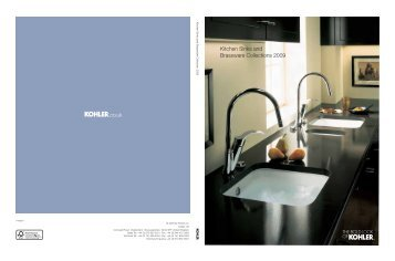 Kohler UK Brochure - The Kitchen Sink Company