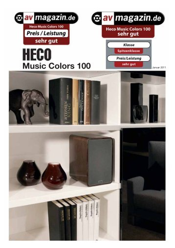 Music Colors 100 - Heco