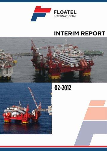 Q2 2012 - Floatel International