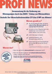 Profi News CF Echo II WP - Allmess GmbH