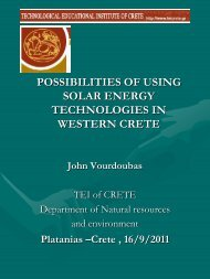 possibilities of using solar energy technologies in western ... - STEP-C
