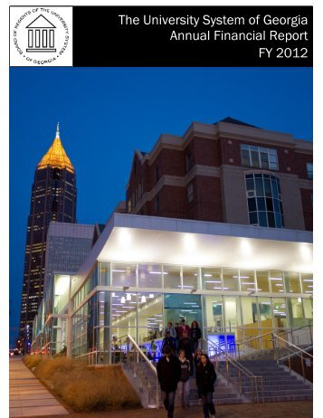 Fiscal Year 2012 - University System of Georgia