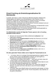 BR Coaching - SL-Consult GmbH