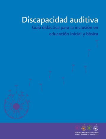 Discapacidad auditiva - conafe.edu.mx