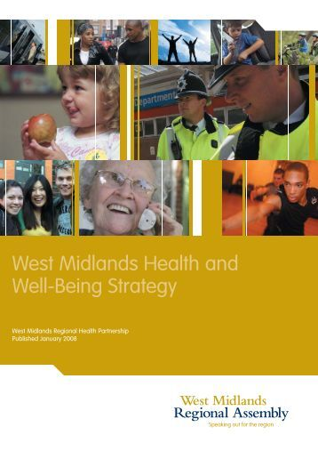 West Midlands Health and Well-Being Strategy