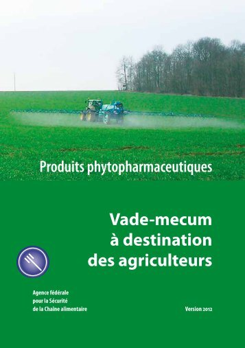 Produits phytopharmaceutiques - Favv