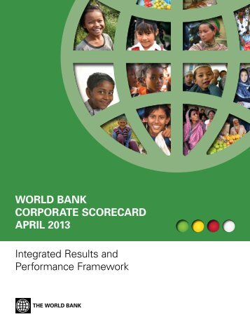 World Bank Corporate SCoreCard aprIl 2013 ... - World DataBank