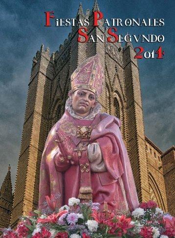 PROGRAMA DE SAN SEGUNDO 2014