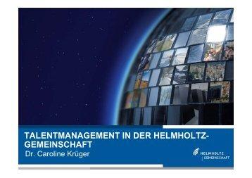 Helmholtz-Gemeinschaft - EU-Hochschulnetzwerk Sachsen-Anhalt