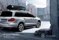 Orginal Zubehör für die GL Klasse - Mercedes-Benz Accessories ...