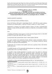 Commission Regulation (EC) No 448/2004 - ES fondi