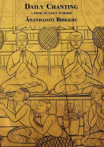 Daily Chanting (Devasikā Sajjhayanā) - Ancient Buddhist Texts