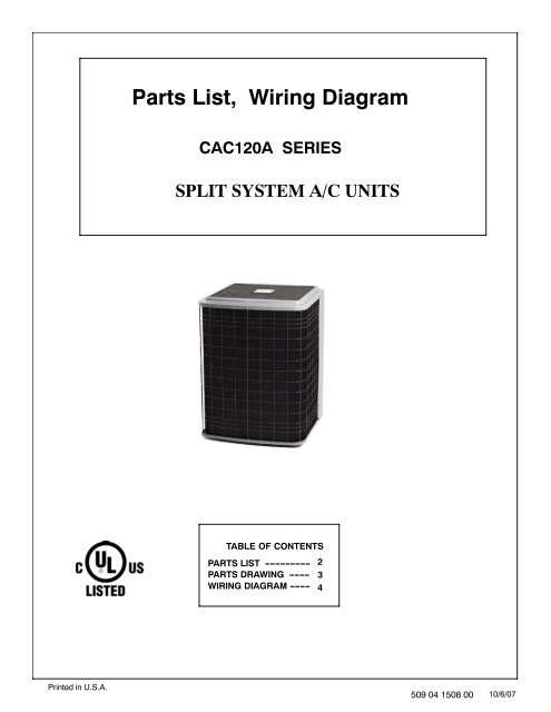 Parts List, Wiring DiagramYumpu